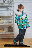 Зимний костюм для девочки  104, 110, 116, 122, 128