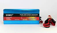 Преобразователь напряжения инвертор AC/DC 600W, преобразователь с чистой синусоидой, инвертор 12В 220В