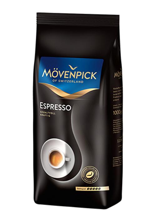 Кава в зернах Movenpick Espresso 1 кг. Німеччина