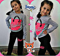 "Спортивный костюм на девочку мод 599-1 ""Barbie""  mari, фото 1"