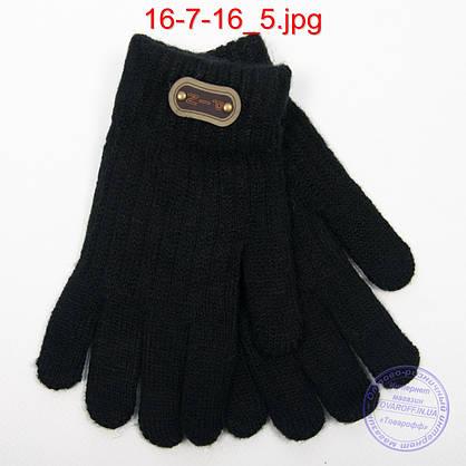 Ангоровые перчатки для мальчиков - №16-7-16, фото 3