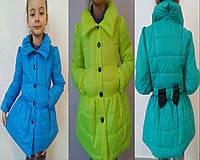 Детское пальто на девочку 588 mari