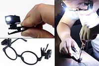 Led подсветка фонарик на очки, фото 1