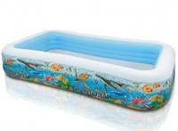Детский надувной бассейн 58485 intex Подводный мир