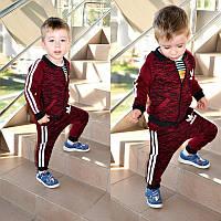 """Детский модный спортивный костюм меланж: мастерка и штаны """"Adidas"""" (3 цвета)"""
