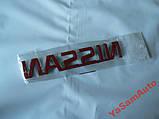 Наклейка z NISSAN эмблема на авто 121х20мм НИССАН , фото 2