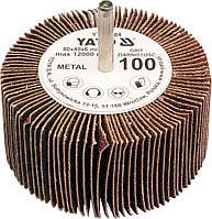Круг лепестковый со шпинд. 80х40х6 Р150