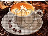 Схема для вышивки бисером Чашечка кофе