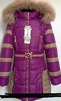 Стильное пальто для  7-12 лет.