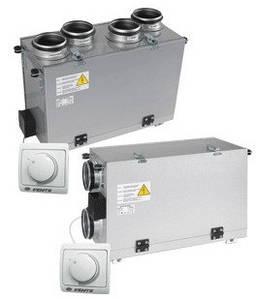 Приточно-вытяжные установки с рекуперацией тепла вентс