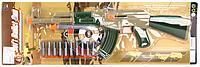 Детский автомат MMT 558-30 с пулями-присосками и мишенью HN