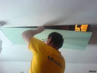 Демонтаж гипсокартона потолок