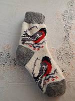 Носки ангоровые очень теплые детские
