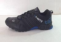 Мужские кроссовки демисезонные чёрные BAYOTA  К-01005