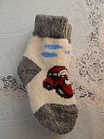 Детские носки ангоровые теплые