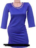 Осеннее женское платье из трикотажа  р. 42  44  4