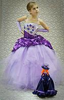 Нарядное платье Афродита 1717 фиолетовое