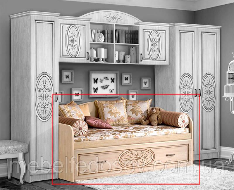 Кровать двуместная 1900х800 б/м Василиса  (Мастер Форм)