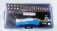 ZD-972A, Набор паяльник-выжигатель + 19 насадок 220V/30 Вт