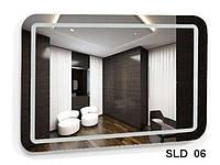 Зеркало со встроенной подсветкой SLD-06 (700х600)
