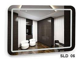 Дзеркало з вбудованим підсвічуванням SLD-06 (700х600)