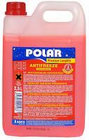 Антифриз концентрат (-80°C) POLAR Premium Longlife G12+ канистра 2,5 литра