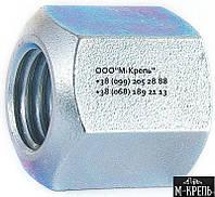 Гайка нержавеющая М27 высокая шестигранная DIN 6330