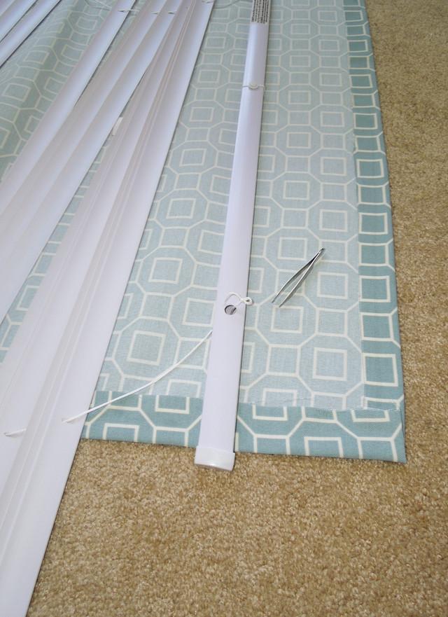 Изготовление римской шторы