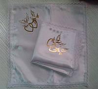 Свадебные платочки (атлас, печать) № 7