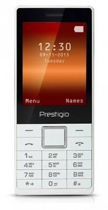 Мобильный телефон Prestigio 1280 DS White, фото 2