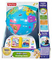 Умный глобус с технологией Smart Stages Fisher-Price рус (DRJ90)