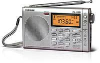 Цифровой радиоприемник Tecsun PL-450 FM,LW,SW,MW волны с двойным преобразованием частоты