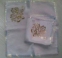Свадебные платочки (атлас, печать) № 8
