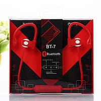 Беспроводная Bluetooth стерео гарнитура BT-7, фото 1
