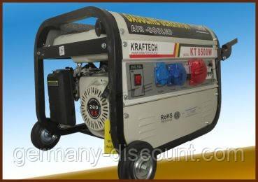 Трехфазные генераторы с автозапуском из Германии 6.5 Квт