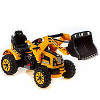 Детский электромобиль X-Rider М223A желтый