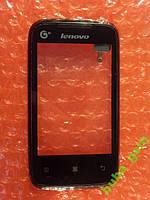 Lenovo A208t сенсор ОРИГИНАЛ Б/У, фото 1