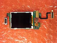 Alcatel OT-665 модуль LCD+шлейф ОРИГИНАЛ БУ, фото 1