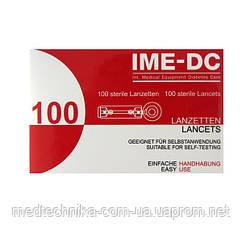 Ланцеты (иглы) IME-DC для инсулиновых шприц-ручек 100 шт.