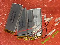 Аккумулятор LiPo 42x27x70  3.7v 1100mA