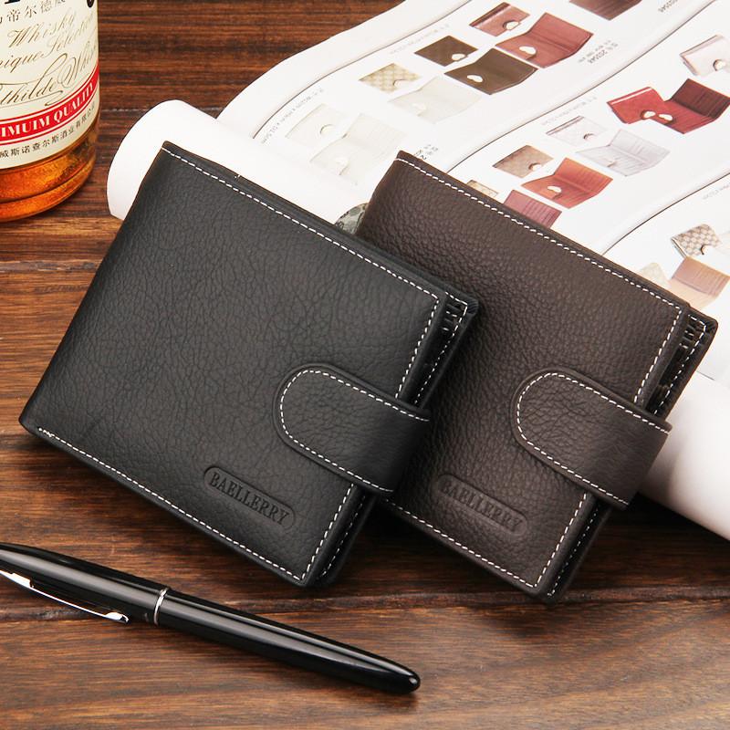 5e96c832dd77 мужской кошелек Baellerry Premium с отделом для мелочи подарок нож