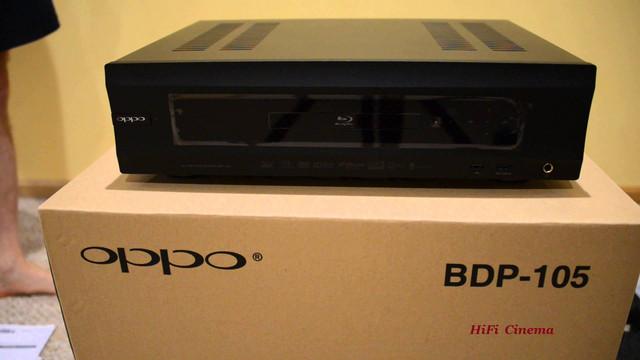 Oppo BDP-105D 3D Blu-ray проигрыватель HiFi сетевой плеер
