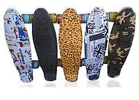 """Скейт Пенни борд Penny board Explore оригинал 22"""" светящиеся мягкие колеса"""