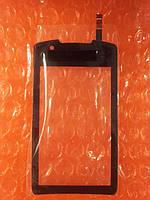 Samsung S5620 сенсор чёрный., фото 1