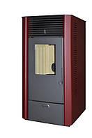 Пеллетная печь (камин) Roda ASTRA 07 (7кВт) Бордо