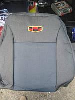 Чехлы на сидения из экокожи Geely Emgrand EC7 2009+ г.в. Джили Евгранд
