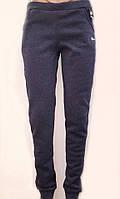 Утепленные спортивные штаны на манжете 1203
