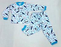 Детская пижама на флисе теплая