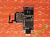 HTC T328w Desire V коннектор SIM-карты ОРИГИНАЛ БУ