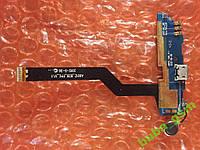 Texet TM-4504 нижняя плата со шлейфом ОРИГИНАЛ Б/У, фото 1